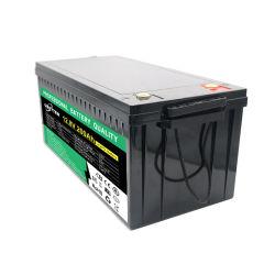 LiFePO4 12V 200Ah Agv Bateria de armazenamento para caminhonetes Camping Caravan