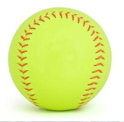 Actearlier PVC personnalisé en cuir 12 pouces Cork Core Softball&Baseball
