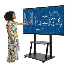 Tutto in uno LCD da 55 65 75 86 98 pollici Tastiera interattiva elettronica con display TV touch screen per Formazione in aula