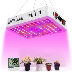 O espectro completo no interior de estufa hidrop ico 100W 200W 300W levou crescer a luz para o transplantio das mudas de flores vegetais suculentos frutos