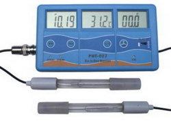 고정밀 pH/TDS/EC/CF/ORP 온도계 모니터