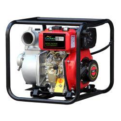 12HP 고압 디젤 워터 펌프 3인치 팜 관수 주철 디젤 엔진 소방 연료 탱크 전기 시동 하이 리프트 워터 펌프