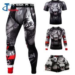 Kundenspezifischer Quick Dry3d Druck, Vollsublimationsdruck Herren Sport Shirts und Hosen