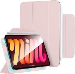 حافظة جديدة قابلة للطي بحافظة مغناطيسية لجهاز iPad قليلة السمك مع جهاز لوحي حامل القلم حقيبة جلدية لجهاز iPad PRO بحجم 11 بوصة 2021