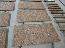 Bianco poco costoso/Grey/pietra dell'oro tagliata per graduare il granito secondo la misura rosso di Giallo Fiorito delle mattonelle per il rivestimento per pavimenti del rivestimento interno della parete esterna