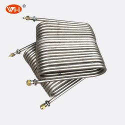 水交換コイルの管の暖房および曲がる管のコイル状のタイプ