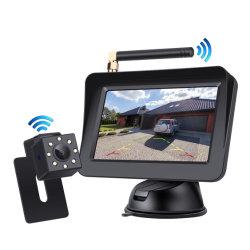 ワイヤレスリアビューパーキングリバースバックアップ機能付き 4.3 インチモニター 車両用リバースカメラキット