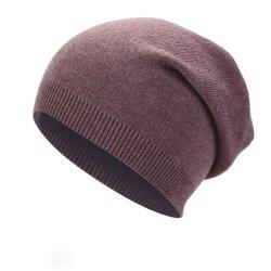 بالغ مزح شتاء [فوإكس] فروة [بوم] [بومس] قبعة عالة يحبك [بني] غطاء
