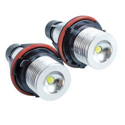 E39-5W LED 사이드는 흰색 노란색 12V LED Angel Eyes입니다 마커 램프 전구 CANbus