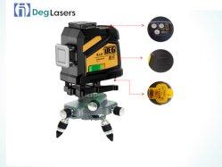 3Dレーザーのレベル12ラインはレーザーの構築レーザーのレベルの測定のツールを緑化する