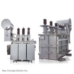 الشركة المصنعة 220kv 31500kفولت أمبير ناقل طاقة مغمور في الزيت عالي الفولتية