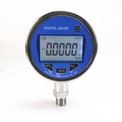 Monitor digital do manómetro de pressão de referência do óleo da água do ar