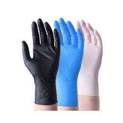 Het vinyl Beschikbare Blauw van de Weerstand van de Handschoenen van het Werk Zure en Alkali maakt het poeder-Vrije Chirurgische RubberPlastiek van het Latex van het Nitril van China van het Nitril van het Poeder Vrije Beschikbare dik