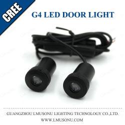 G4 автомобильный светодиодный индикатор освещения двери двери автомобиля Ghost Shadow лампы проектора с логотипом