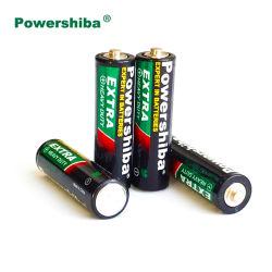 Sin mercurio/no recargable de larga duración adicional de 1,5 V/R6/AA/carbono zinc/alta resistencia/primaria /pila seca Batería para el Control de juguetes/CÁMARA/Linterna/Reloj