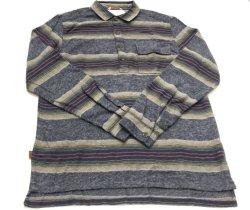 ファッションウーブンストライプキッズ′ S コットンシャツボーイズキッズウェア 子供は身に着けている