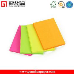 Fancy freddo Desktop Sticky Note Paper Pad con Low Price