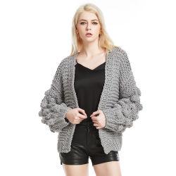 De nouveaux faits main pullover en tricot de femmes Cardigan, crochet Commerce de gros