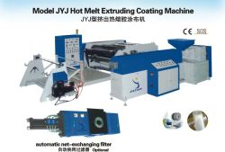 Cortina de cola termofusível máquina de revestimento/TPU máquina de extrusão de folhas