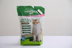 豆腐のキャットリター(緑茶) --臭気制御および容易きれいになる