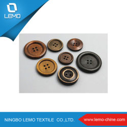高品質の木製シャツボタン