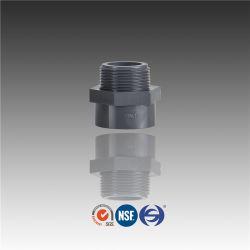 Pn16管付属品の圧力によって通されるPVC雄型アダプタ