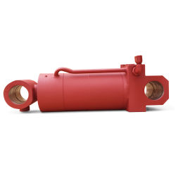 산업 기계를 위한 주문을 받아서 만들어진 액압 실린더