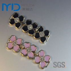 De Decoratie van de schoen met de Juwelen van de Hars van het Bergkristal voor Sandals van Vrouwen