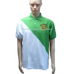 製造業者のための優雅なヨークの刺繍のポロシャツ