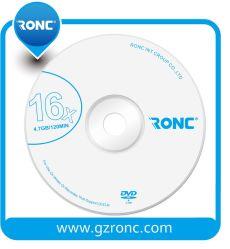 Campioni gratuiti DVD-R/+R vuoto con Ronc o logo personalizzato