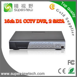 mobilephone (SV-D016)의 16CH 960h H. 264 CCTV DVR 지원 먼 전망