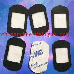 Hoja de caucho de silicona personalizadas con adhesivo