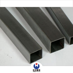 Bestes verkaufenbaumaterial-schwarzes Quadrat-Rohr von China