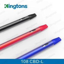 Beschikbare Elektronische Sigaret 108 cbd-L Cbd Vaproizer van Kingtons E Cig
