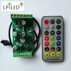 Boîtier de commande RGBW 22-36VCC pour voyant LED