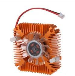 CPU VGA PC 휴대용 퍼스널 컴퓨터 J3X5를 위한 비디오 카드 55mm 더 차가운 냉각팬 열 싱크