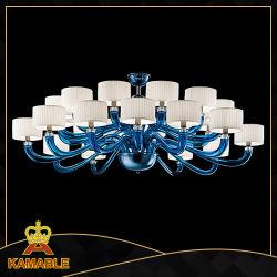 ペンダント灯のMuranoの現代青いガラスシャンデリア(KD9011-24)