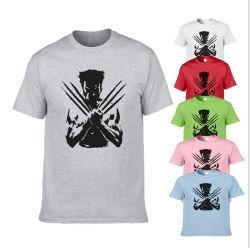 (42의 유효한 색깔) 로고 인쇄를 가진 도매 주문 싼 t-셔츠