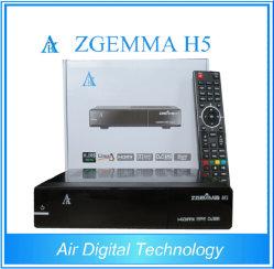 Оригинальные Zgemma H5 Hevc/H. 265 DVB-S2+DVB-T2/C Combo спутниковое ТВ приемник