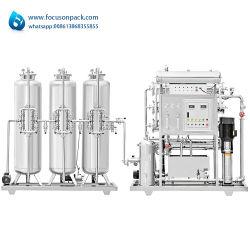 De industriële Reiniging van het Water van het Systeem van de Omgekeerde Osmose van de Installatie van de Behandeling van het Water