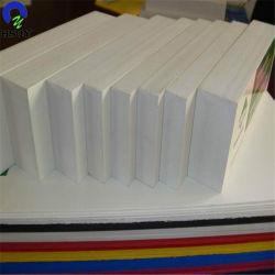 Meilleure vente de la Chine Fabricant PVC de couleur blanche/Pet/acrylique/Celluka Forex en mousse plastique Feuille de carte
