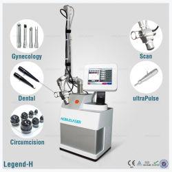 High-Tech plus chaudes de la vente de laser CO2 fractionnelle médical application vaginale
