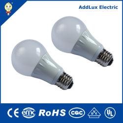 La mejor fábrica mayorista Wholesales Blanco cálido de 220V 5W 6W 9W 12W Lámpara LED Mundial fabricado en China para el hogar y de negocios de la iluminación interior