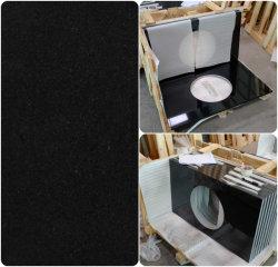 Countertop van de Keuken van het Graniet van Shanxi Zwarte Gelamineerde