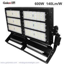 Meanwell 140lm/W Lumileds SMD5050 Lumière extérieure étanche IP66 600W Projecteur à LED