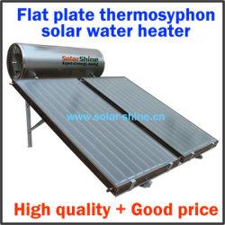 chauffe-eau solaire avec collecteur de la plaque plat de bord et le réservoir sous pression pour la maison 150-320 litres