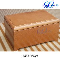 Best-Seller Design exclusivo de madeira/madeira/Funeral/Laminadoras/Cremação/Poplar/Red Oak/Cherry/Mahogany/chinês/Ash URSN