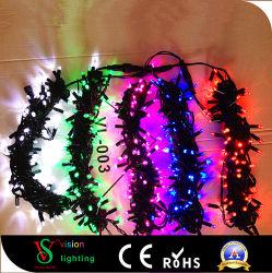 Bande LED noir imperméable Feux de chaîne de Noël