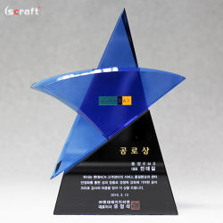 Blue Star Crystal Awards optique