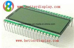 Amt panneau LCD avec connecteur à broches pour l'arrière-plan gris vert